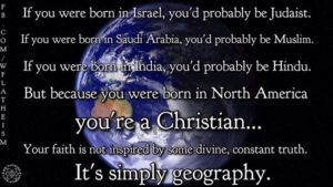 RELIGIOUS GEOGRAPY